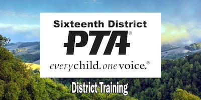 16th District PTA Training