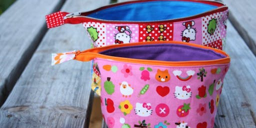 Back to School - Zippered Pouches