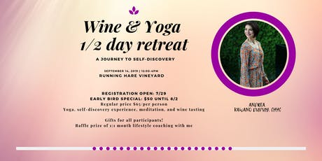 Wine & Yoga Experience tickets