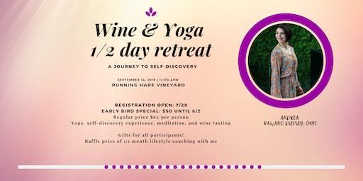 Wine & Yoga Experience