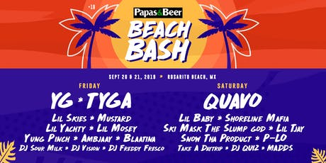Papas Beach Bash tickets