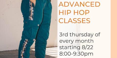 Advanced Hip Hop Class tickets
