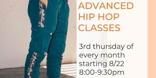 Advanced Hip Hop Class