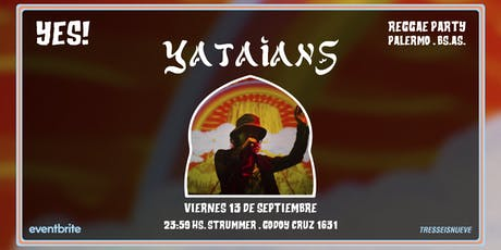 FIESTA YES! Yataians en Palermo entradas