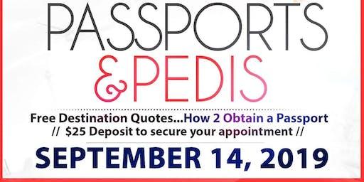 PASSPORTS & PEDIS