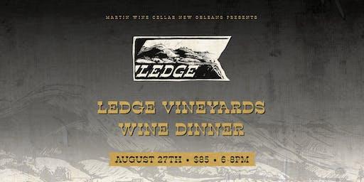 Ledge Vineyards Wine Dinner