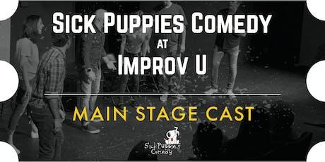 Sick Puppies Improv Comedy Show at ImprovU tickets