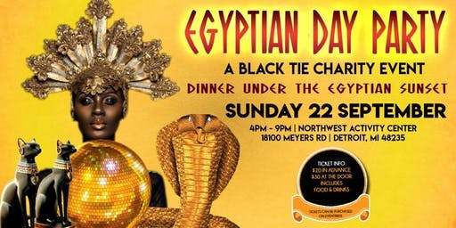 Dinner Under the Egyptian Sunset Charity Event