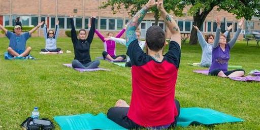 Free Fall Yoga Classes @ the Glen