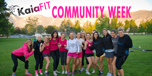 Community Week - All Kaia Classes are FREE!
