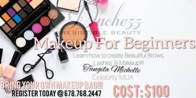 Duchezz's Pop Up Makeup Class For Beginners