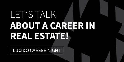 CAREER NIGHT at Bob Lucido Team