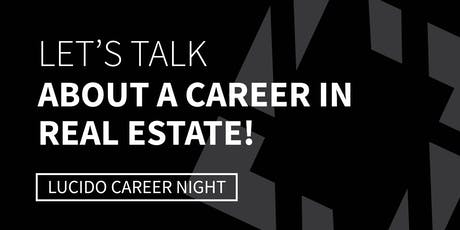 CAREER NIGHT at Bob Lucido Team / Annapolis Office tickets
