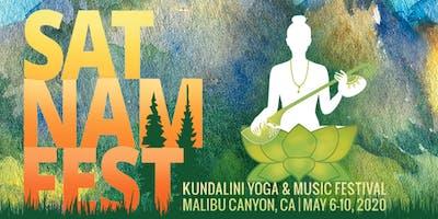 Sat Nam Fest Malibu Canyon, May 6-10, 2020
