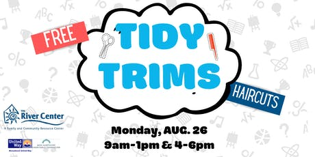 Tidy Trims - Free Back-to-School Haircuts tickets