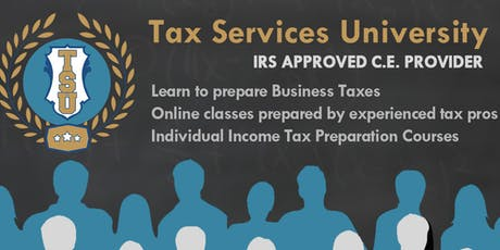 LEARN TO PREPARE BUSINESS TAXES tickets