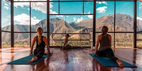 Peru Yoga Retreat ingressos