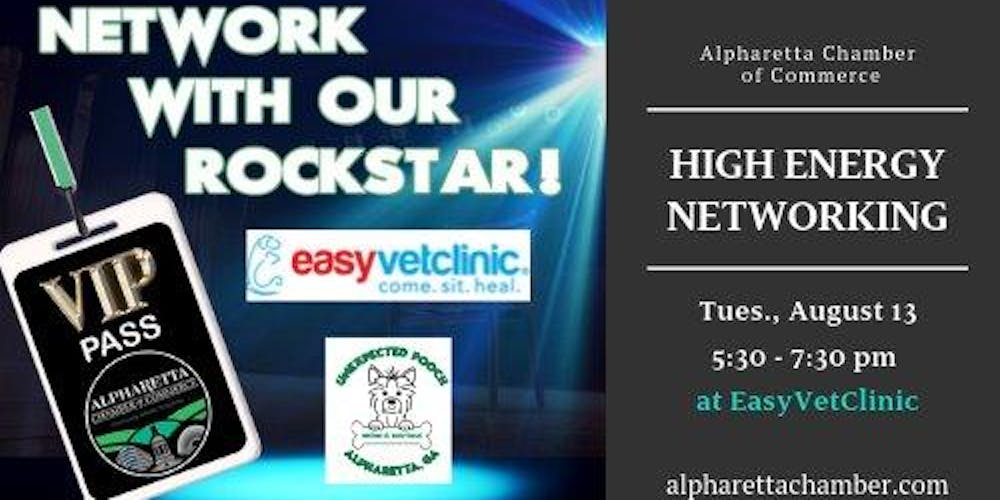 Network with our Rockstars- Yappy Hour with our Furry Friends