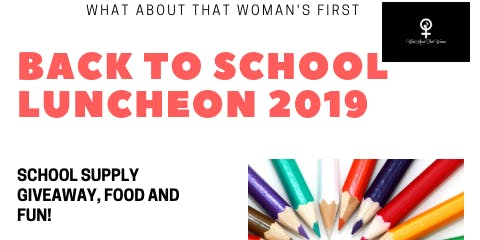 WATW's First Back To School Luncheon 2019