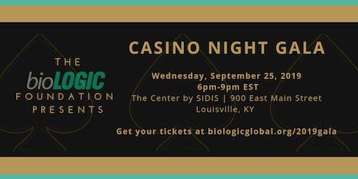 Casino Night Gala| September 25, 2019 in Louisville, KY |hosted by bioLOGIC