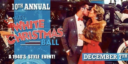 10th Anniversary 1940s White Christmas Ball