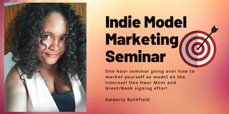 Indie Model Marketing - Amberly Rothfield tickets