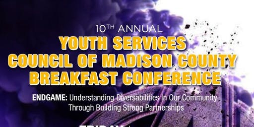 10th Annual Youth Services of Madison County Breakfast Conference