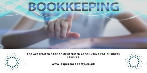 SAGE RQF Award in Computerised Accounting Level 1