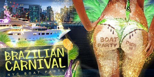 Brazilian Independence Day Boat Party Yacht Cruise: Saturday September 7