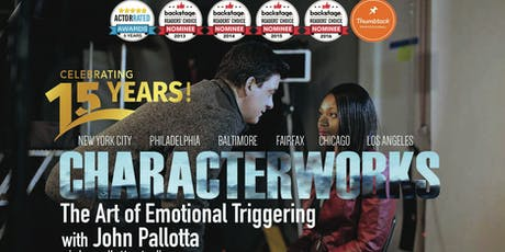 Actors Weekly On Camera Scene Study Workshops and Classes with John Pallotta tickets
