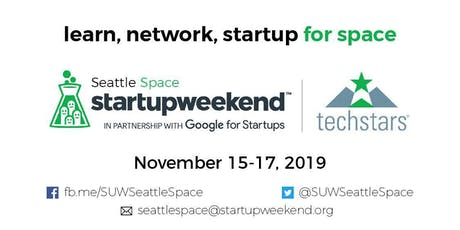 Techstars Startup Weekend: Seattle Space  tickets