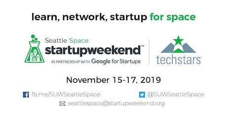 Techstars Startup Weekend: Seattle Space  tickets