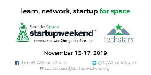 Techstars Startup Weekend: Seattle Space