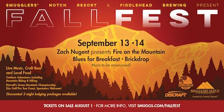 Smuggs FallFest presented by Fiddlehead Brewing tickets