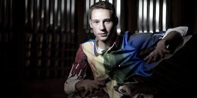 Organist Lukas Hasler in Olympia, WA