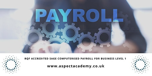 Skillsfirst Award in Computerised Payroll for Business Level 1