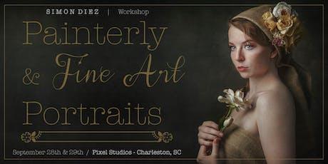 Painterly & Fine Art Portraits by Simon Diez tickets