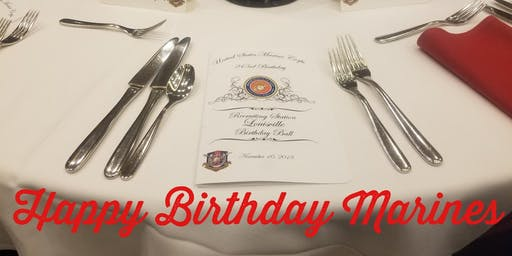 Recruiting Station Louisville 244th Marine Corps Birthday Ball 2019