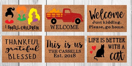 Welcome Mat Painting 9/22
