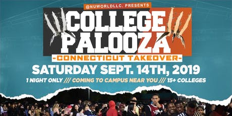COLLEGE PALOOZA: CONNECTICUT TAKEOVER tickets