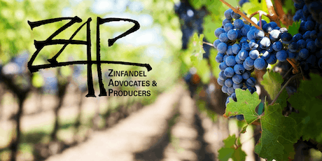 Zinfandel Advocates & Producers (ZAP) - Seminar and Tasting Reception tickets