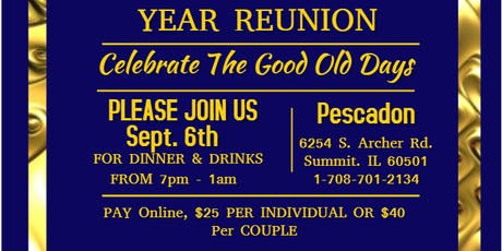 Morton East & West Reunion Party tickets