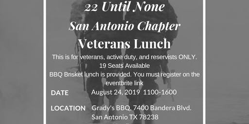 San Antonio Veterans Lunch