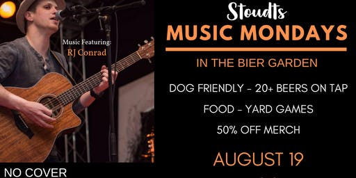 Stoudts Music Monday with RJ Conrad