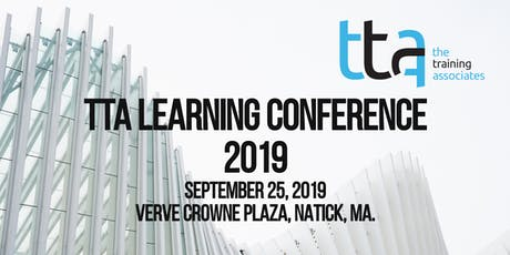 TTA Learning Conference tickets