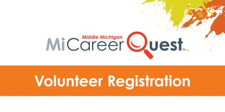 MiCareerQuest Middle Michigan Volunteer Registration tickets