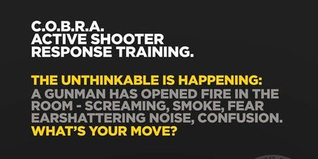 C.O.B.R.A. Self Defense Active Shooter Training tickets