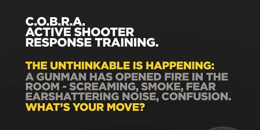 C.O.B.R.A. Self Defense Active Shooter Training