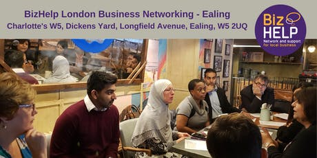 BizHelp London Business Networking - Ealing tickets