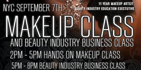 NYC MAKEUP & BUSINESS CLASS tickets